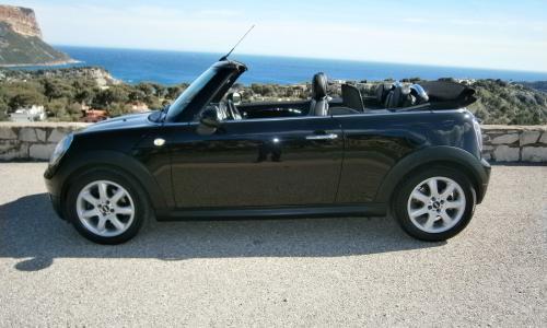 Mini cooper 1.6 cabriolet