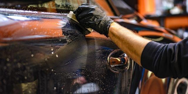 Lavage auto sans eau écologique - CassisCars